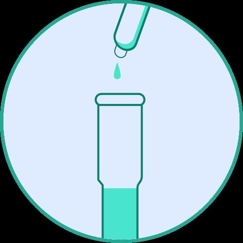 Corona Antigen Spucktest und Speicheltest - Lösung hinzufügen