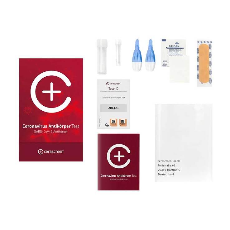 Cerascreen Coronavirus Antikörper Test zum Einsenden
