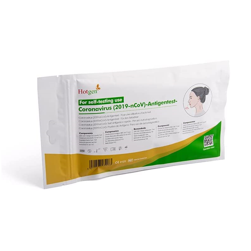 NOVEL 2019-nCoV Corona Antigen Selbsttest Nasentest