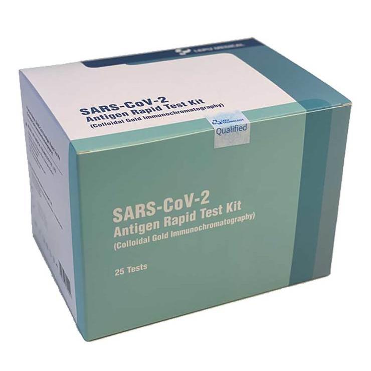 LEPU Medical SARS-CoV-2 Corona Antigen Nasentest Selbsttest